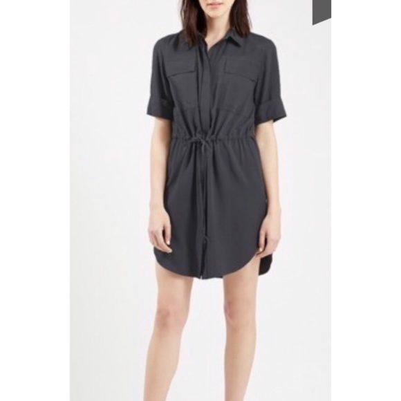 Topshop Dresses & Skirts - TOPSHOP Utility Shirt Dress